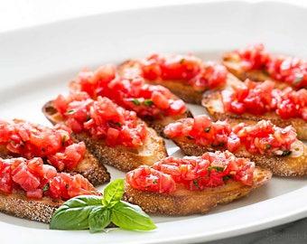 Bruschetta Dip, Bruschetta Mix, Dip Mix, Salsa, Dip Mixes, Herbs, Spices, Seasonings, Salt free, Bruschetta, Mix in Seconds