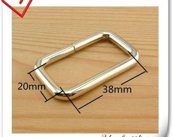 3.8cm (1.5 inch ) rectangle rings for purse strap connector  U104