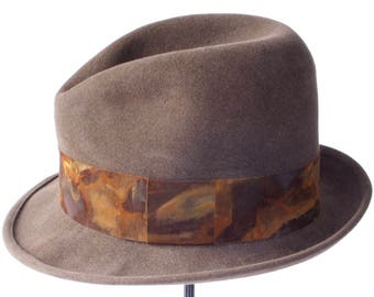 Fedora Hat Men Open Crown Fedora Hat Homburg Menu0027s Felt Hat Spring  Accessories Menu0027s Style Mad