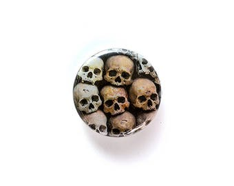 Death Comes Ripping 1 Inch (2.54 cm) Button