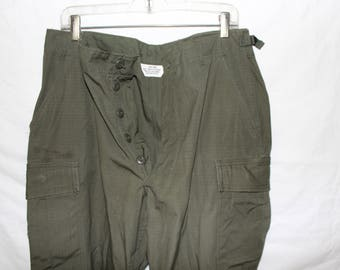 Vintage Military Trousers,, Size Large