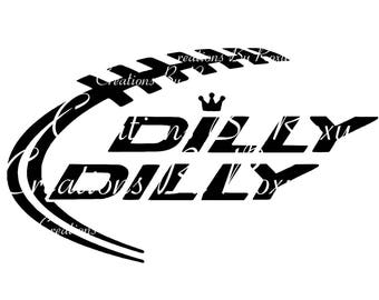 Dilly Dilly  Cutting file .svg, dxf, and png