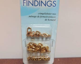 CLEARANCE - Jewelry Essentials Lobster Clasps Mix Gold