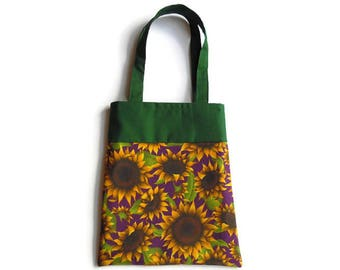 Sunflower Gift Bag - Goodie Bag - Mini Tote