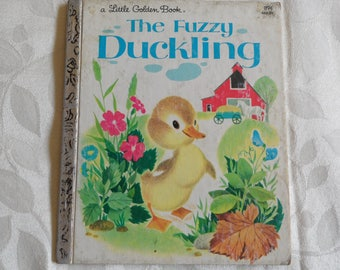 A Little Golden Book The Fuzzy Duckling 1982
