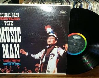 The Music Man Original Broadway Cast Vintage Musical Record