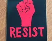 Set of 4 Resist stickers