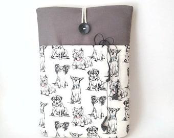 Dog Macbook Sleeve, Dog Macbook Cover,  Macbook Case, Macbook pro 13 Case, 13 3 Laptop Bag,MacBook Pro Touch Bag Case,2016 Dog Laptop Sleeve