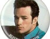 """Dylan - Beverly Hills 90210 vintage vtg button pin badge pinback 1.75"""" 1 3/4"""""""