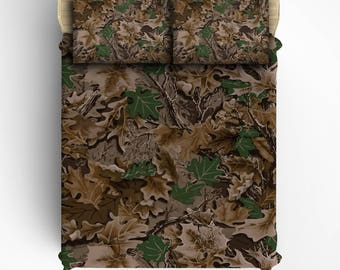 Custom  Camo Graphics Bed Sheets and Pillowcases, All Bed Sizes including Crib, Toddler, Twin, Twin XL, Queen and King