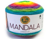 Lion Brand Mandala Yarn - GNOME - 150gm DK Light Worsted - Knitting Crochet
