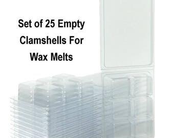 Wax Melt Molds, Wax Tart Packaging, Clamshells For Wax, Wax Tart Containers, Wax Melt Containers, Wax Tart Molds, Wax Melts Packaging