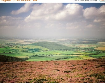SUMMER SALE-Ends July 5- England Photography Heather Moors Photo Yorkshire Photograph Britain Print uk Landscape Wutheriing Bronte eng3