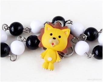 Bleach Kon Beaded Bracelet, Bag Charm, Cosplay, Anime