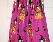 Witchful, Halloween Pillowcase Dress, Witches, Alexander Henry, Size 6, RTS
