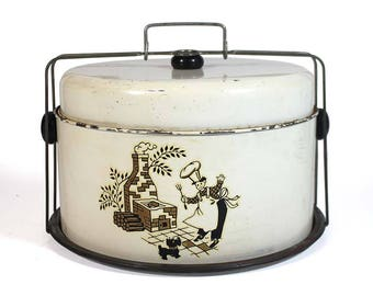 Vintage Cake Pan Carrier