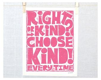 Right or Kind? Choose Kind!