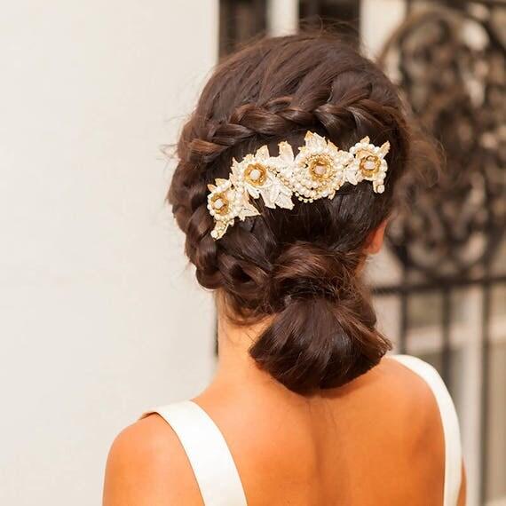 Wedding head piece Selena
