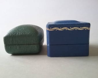 Vintage Ring Boxes Jewelry Boxes Collectibles Complimentary Shipping To The Usa And Canada