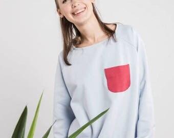 SALE - Blue jumper | Cute jumper | Casual jumper | LeMuse blue jumper