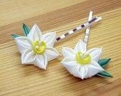 Daffodil Bobby Pins