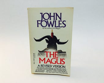 Vintage Erotic Book The Magus by John Fowles 1985 Paperback