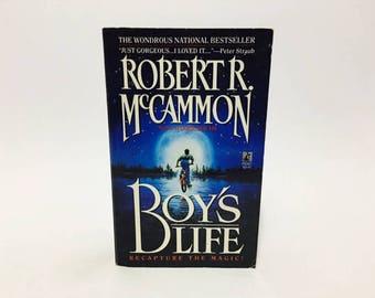Vintage Pop Culture Book Boy's Life by Robert McCammon 1990s Paperback