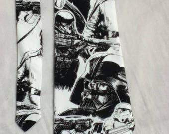 Men's Handmade Star Wars Tie