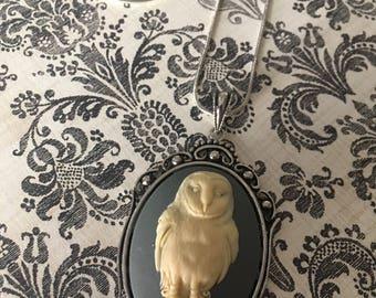 Midnight Owl Necklace