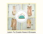Sewing Classes, PDF Class, Upcycled Sewing, Video, DIY, Refashion, Reclaimed, Repurposed, Sew, Boho, Tutorials, Patterns, Plus, CreoleSha