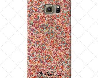 Retro Paisley Samsung Galaxy Case s8, s7, s6