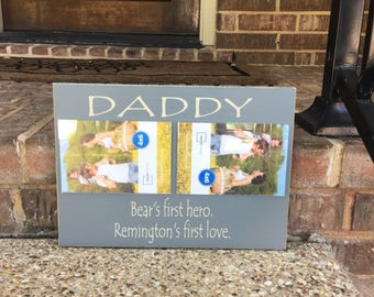 Father's Day Gift ~Custom Dad Sign ~Gift From Son ~Gift From Daughter ~New Dad Father's Day ~Gift For Step Dad ~Custom Daddy Sign~Daddy Gift