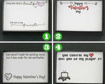 Valentines Day Gift Box • Romantic Gift Valentines Jewelry Girlfriend Gift Singles Awareness Gift Wife Jewelry Romantic Craft Gift Box Funny