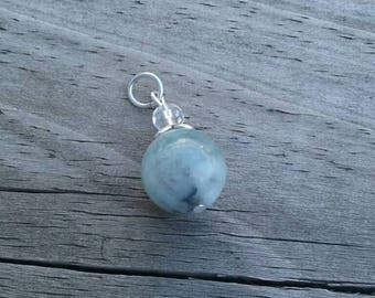 Natural Aquamarine Pendant