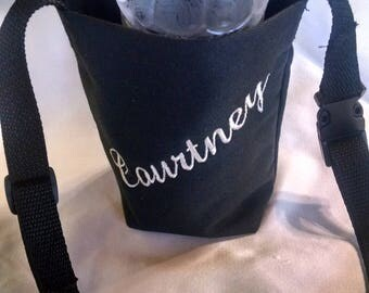 Personalized Water Bottle Carrier