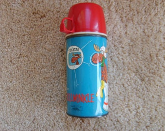 Bullwinkle Vacuum Thermos Bottle by Thermos, Vintage Thermos