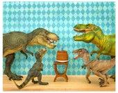 Dinosaur decor, T. rex birthday party: Raging Party