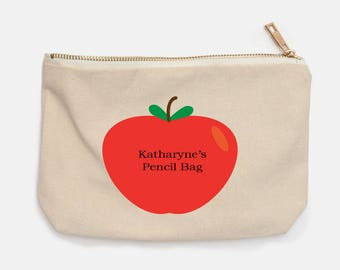Apple Pencil Bag Personalized