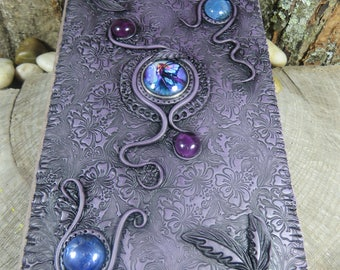 Fairy Journal, Purple and Black Journal, The Fae, Witch's Journal, Spell Book, Witchcraft Grimoire, Tarot Journal, Dream Journal, Gratitude