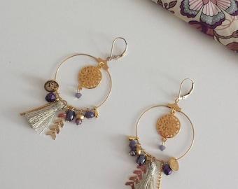 "Earrings ""Bohemian chic"""