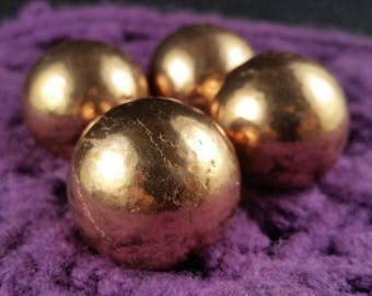 Pure Copper Sphere 30mm Michigan Native Copper Metal Crystals Crystal Natural healing