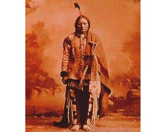 CANVAS Sitting Bull Giclee