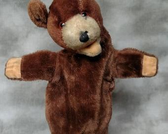 Vintage Antique Mohair Teddy Bear Hand Puppet Steiff?