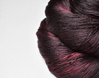 Blooddance OOAK - Silk Lace Yarn