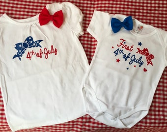 First 4th of July, July 4th baby, 4th of July, American Tshirt, red white and blue Tshirt, American Cutie