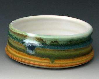 CERAMIC CAT BOWL #25 - Puppy Bowl - Small Dog Bowl - Pottery Cat Bow - Cat Dish - Cat Food Bowl - Ceramics and Pottery - Studio Pottery
