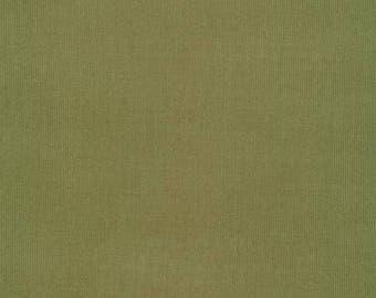 Fat Quarter Organic CORDUROY Fabric - Cloud9 Spring Quartet - Olive