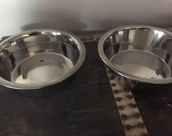 Medium/Large Dog Bowls-Fits Medium/Large Dog Feeder