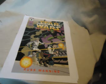 Vintage 1995 Star Wars The Early Adventures #7 Comic, collectable