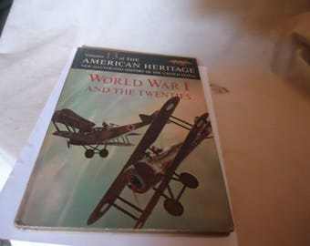 Vintage 1963 American Heritage New Illustrated History Of The United States Hardback Book Volume 13 World War I And The Twenties collectable